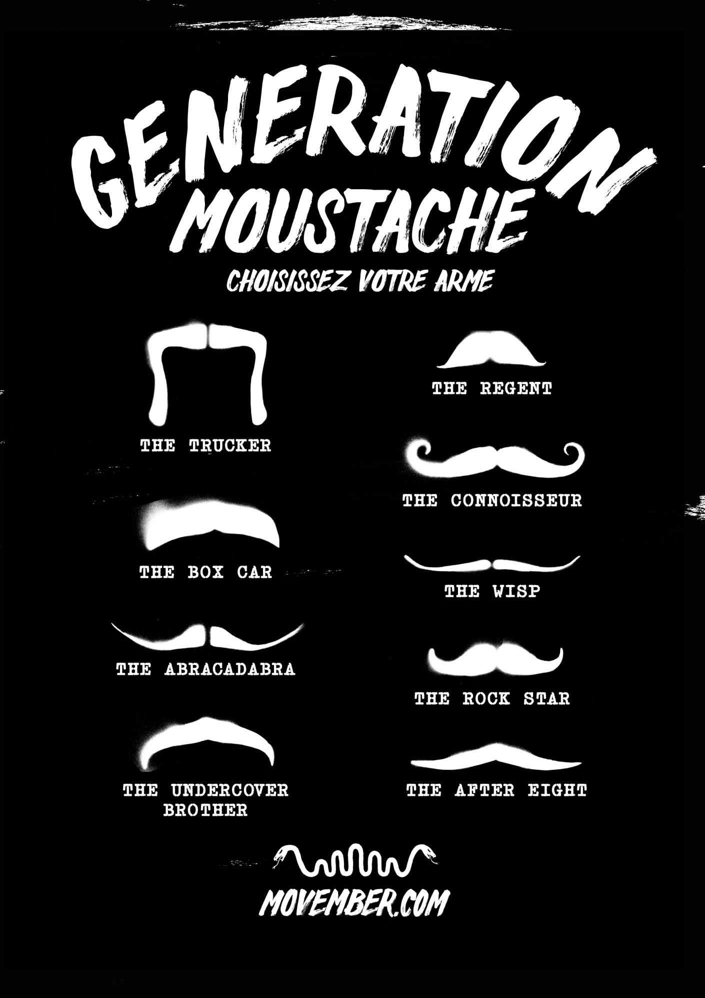 Movember, quand la Moustache de Grupo Pefaco s'en mêle - Novembre 2013